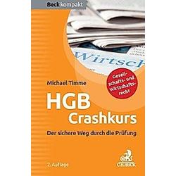 HGB Crashkurs. Michael Timme  - Buch