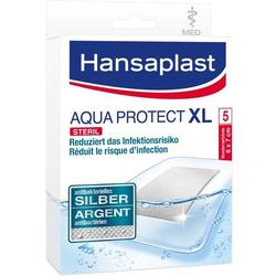 HANSAPLAST med Aqua Protect XL Pflaster 6x7 cm 5 St