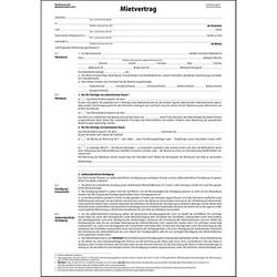 25 SIGEL Mietverträge MV464 - für die Vermietung von Wohnraum mit Hausordnung