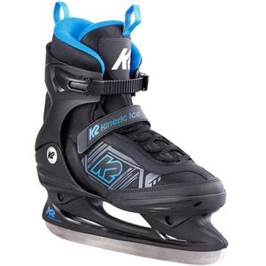 K2 Skates Herren Schlittschuhe Kinetic Ice M — Black - Blue — EU: 46 (UK: 11 / US: 12) — 25E0230