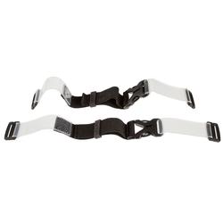 Leatt Gurtsystem für Nackenschutz 4.5/5.5/6.5 Transparent, ohne Druckknöpfe