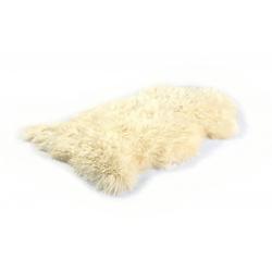 Schaffell naturweiß(B 90 cm)