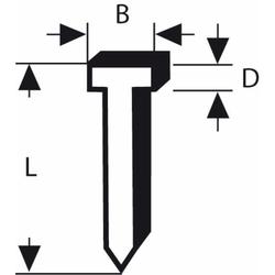 Nagel Typ 47. 1.8 x 1.27 x 23 mm