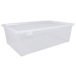 ONDIS24 Aufbewahrungsbox Aufbewahrungsbox Kleiderbox Schuhbox Utensilienbox Lagerbox Allzweckbox Easy XL