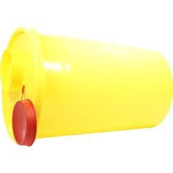Kanüleneimer 2 l Gelb