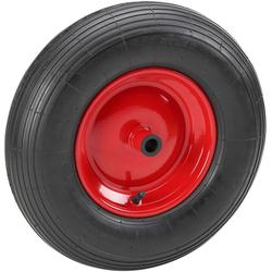 METAFRANC Schubkarren-Rad 400 mm, für Schubkarren schwarz
