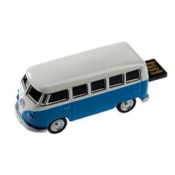 GENIE USB-Stick VW Bus, blau blau, weiß 32 GB