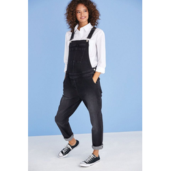 Next Latzhose Jeans-Latzhose schwarz 27,5 - 36