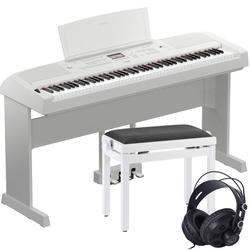 Yamaha DGX-670 Weiß Set