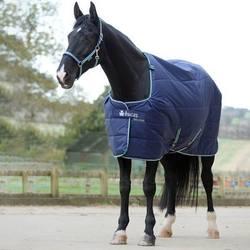 Bucas Pferdedecke Stalldecke Quilt 150, Gr. 130 cm - blau