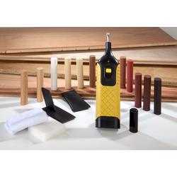 Reparatur-Set für Laminat und Parkett mit 11 Farben Hartwachsstangen