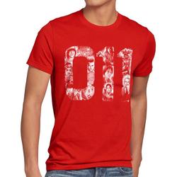 style3 Print-Shirt Herren T-Shirt Eleven 11 demogorgon elfie dustin rot L
