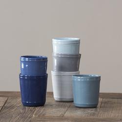 Bleu d'Argile: Kaffeebecher Französisch Blau