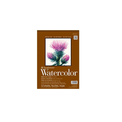 Strathmore Artist Papers™ Aquarellpapier 400 Series Watercolor, Spiralblock, 22,9 x 30,5 cm, 300 g/m², 12 Blatt
