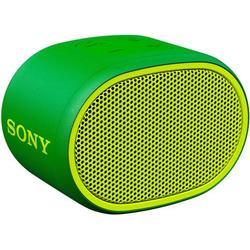 Sony SRS-XB01 Bluetooth® Lautsprecher AUX, Wasserfest Grün