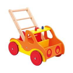 Small Foot Lauflernwagen Kinder Feuerwehr - Holz Lauflernwagen