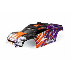 Traxxas TRX8611T Karosserie E-Revo lila + Aufkleber