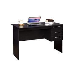 Woltu Schreibtisch, Schreibtisch mit 3 Schubladen Modell Jan