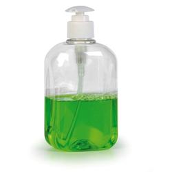 Leere pet-flasche mit dosierpumpe, 500 ml, 10 stk.