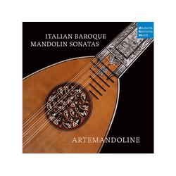 Artemandoline - Italian Baroque Mandolin Sonatas (CD)
