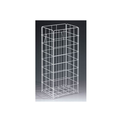 Tork Papierkorb Drahtgitterkorb für Papierhandtücher 229750 Littainer 60 Liter weiß