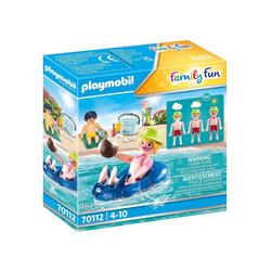 Playmobil® Spielfigur PLAYMOBIL® 70112 Badegast mit Schwimmreifen