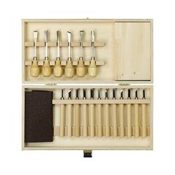 Pebaro Werkzeugset Holz-Schnitzbox