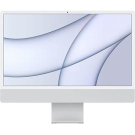 """Apple iMac 24"""" mit Retina 4.5K Display M1 8 GB RAM 256 GB SSD 8-Core GPU silber"""