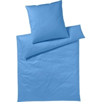 Yes for Bed Pure & Simple Uni azur (155x220+80x80cm)