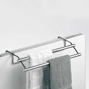 Giese Handtuchtrockner für Heizkörper B: 580 T: 230 mm Breite 580 mm 30507-02