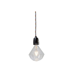 KARE Stehlampe Glühbirne LED Diamond