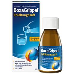 BOXAGRIPPAL Erkältungssaft 180 ml