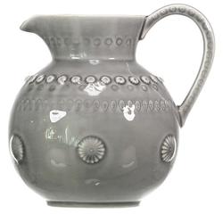 PotteryJo DAISY Karafte Groß Grau 1,8 l