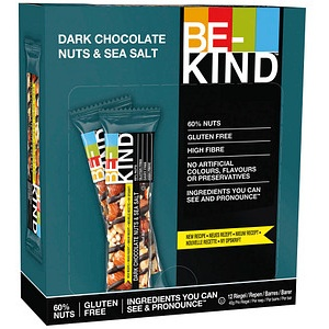 BE-KIND Dark Chocolate Nuts & Sea Salt Nussriegel 12 Riegel