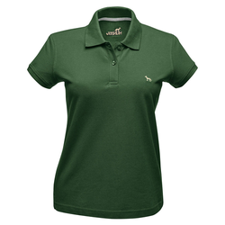 Hunter Damen-Poloshirt grün, Größe: M