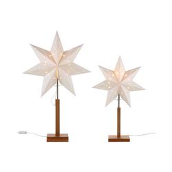 STAR TRADING LED Stern, Standleuchter 34 cm x 180 cm x 55 cm