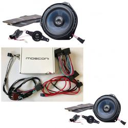 Gladen / Mosconi Fiat Ducato Set Lautsprecher und Endstufe