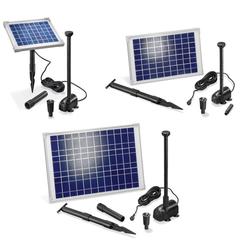 Solarpumpensystem Splash mit 5 W Solarmodul, 470 l/h, max. 75 cm