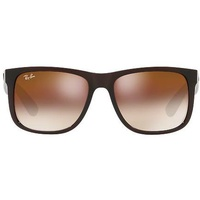 Ray Ban Justin RB4165 55mm brown / brown gradient flash
