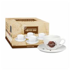 Könitz Tasse Coffee Bar No 8a 4er Set Coffee Spot, Porzellan