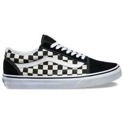 Vans - Old Skool Primary Check Black/White - Sneakers - Größe: 10 US