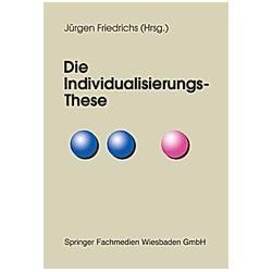 Die Individualisierungs-These - Buch