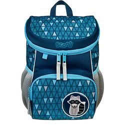Kinderrucksack Mini-Me Rickie Racoon dunkelblau