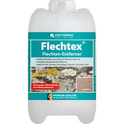 HOTREGA® Flechtex Flechtenentferner, Reiniger zur Entfernung Flechten von Steinoberflächen aller Art, 2 Liter - Flasche