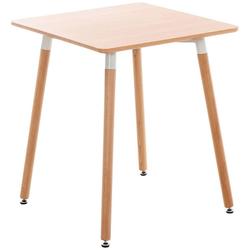 CLP Gartentisch Viborg, mit MDF Tischplatte natur