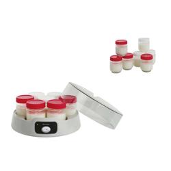 LIVOO Küchenmaschine LIVOO Joghurt Maker 14 Töpfe Joghurt selber machen DOP180