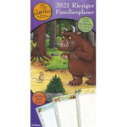 Grüffelo - Riesiger Familienplaner 2021