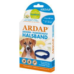 Ardap Zecken- u. Flohhalsband für mittelgroße Hunde 10-25 kg