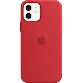 Apple iPhone 12 | 12 Pro Silikon Case mit MagSafe (product)red