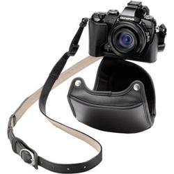 Olympus CSCH-118 Ledertasche schwarz für Kameratasche Schwarz